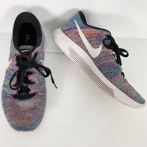 Nike Lunarepic Low Flyknit Multicolor Sneaker 8